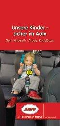 Unsere Kinder - sicher im Auto