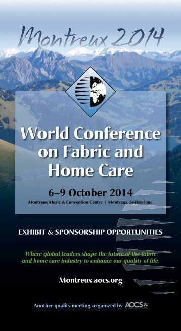 World Conference on Fabric and Home Care - staging.files.cms.plus ...