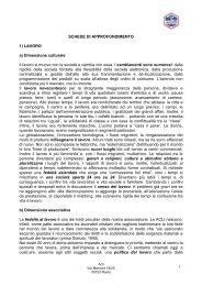 1 SCHEDE DI APPROFONDIMENTO 1) LAVORO a ... - enaip