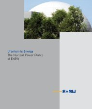 The Nuclear Power Plants of EnBW