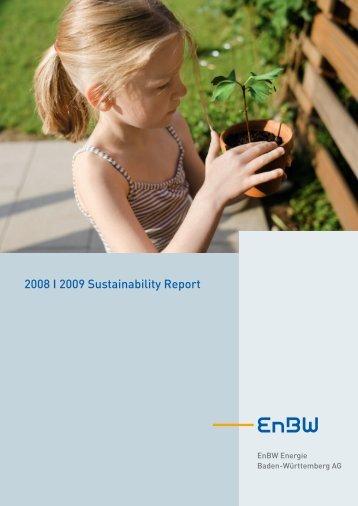 2008 I 2009 Sustainability Report - Econsense