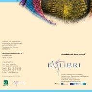 Broschüre der Entwicklungspartnerschaft KoLIBRI - enaip