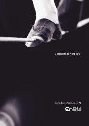 Geschäftsbericht 2001 (pdf 1 MB) - EnBW