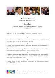 Questions - enaip