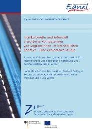 Interkulturelle und informell erworbene Kompetenzen von ... - enaip