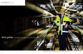 Dicht gefüllt. Stuttgarts Untergrund fordert Planer. - EnBW