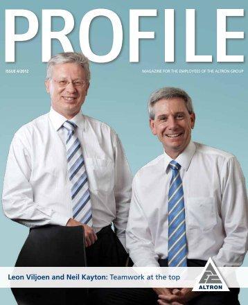 Download A PDF here - Profile Magazine