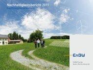 Nachhaltigkeitsbericht 2011 als PDF - EnBW