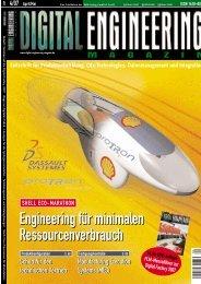 MAGAZIN Zeitschrift für Produktentwicklung, CAx-Technologien ...
