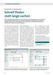 Schnell finden statt lange suchen - Encoway GmbH & Co KG