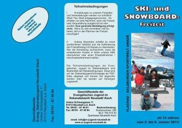 Flyer Skifreizeit 2013 - Evangelische Jugend im Dekanat Neustadt ...