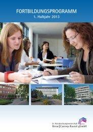Fortbildungsprogramm - Evangelische Krankenhausgemeinschaft ...