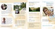 Rehabilitation bei ENDOMETRIOSE Patientinnen-Information
