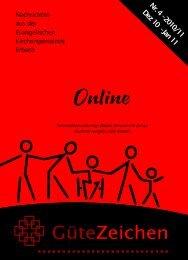 Nr. 4 Dezember 2010–Februar 2011 - Evangelische ...