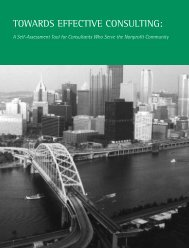 TOWARDS EFFECTIVE CONSULTING: A Self-Assessment ... - lsntap