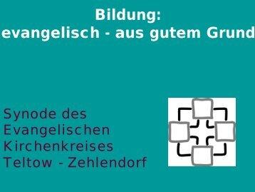 Kirchengemeinde Kleinmachnow - Evangelische Auferstehungs ...