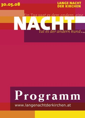 Programm - Altstadt Salzburg