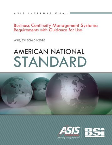 Hazards Risk Management Systems - Association of Contingency ...