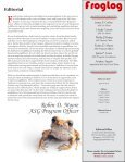 FrogLog - Amphibian Specialist Group - Page 3
