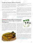 FrogLog - Amphibian Specialist Group - Page 5