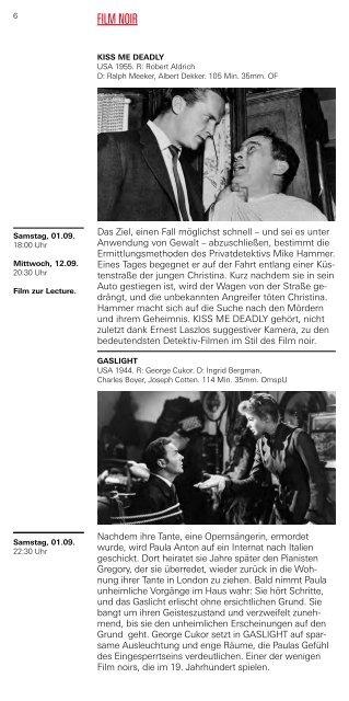 Kinoprogramm (PDF, 7,9 MB) - Deutsches Filminstitut