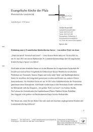 Anschreiben zum Kinderchortag (PDF, 117 KB) - Evangelische ...