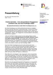 Dritter Freiwilligensurvey 2009 (PDF, 57 KB) - Evangelische Kirche ...
