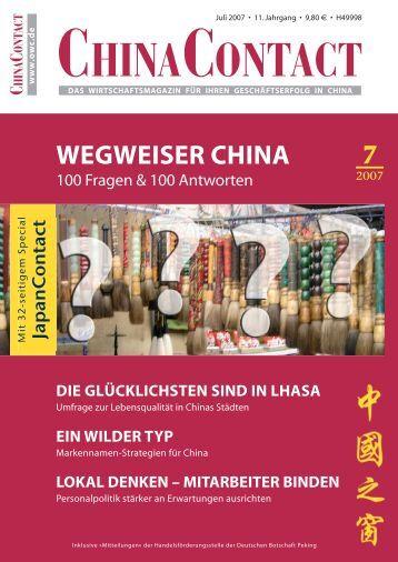 Markennamen-Strategien für China - M-f-consulting.com