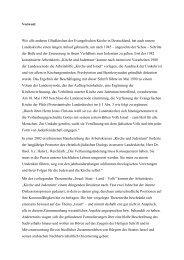 Israel: Staat – Land – Volk - Evangelische Kirche der Pfalz