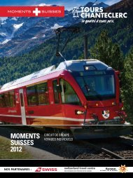 moments suisses 2012 - Voyages Super Prix