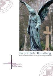 Die kirchliche Bestattung - Evangelische Kirche der Pfalz