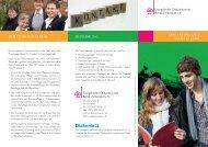 Flyer zum FSJ - Evangelischer Diakonieverein Berlin Zehlendorf eV