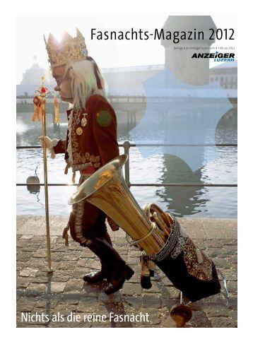 Anzeiger Luzern, Ausgabe FB, 8. Februar 2012