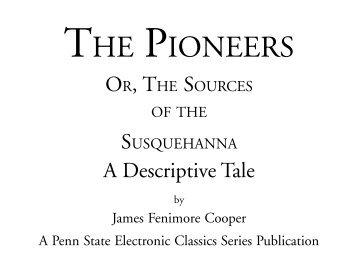 The Pioneers - Pennsylvania State University