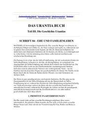 Das Urantia Buch - Schrift 84 - Ehe und Familienleben