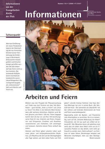 Informationen Nr. 119 - Evangelische Kirche der Pfalz