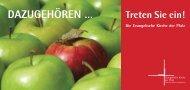 DAZUGEHÖREN … Treten Sie ein! - Evangelische Kirche der Pfalz
