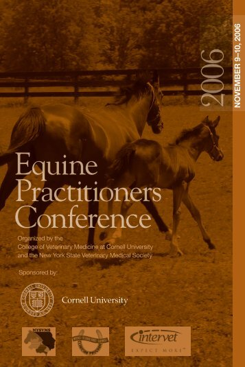 Equine Practitioners Conference - The College of Veterinary ...