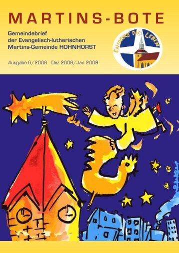 Martinsbote_(Dezember 08) - der Evangelisch-lutherischen ...
