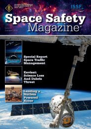 Space Safety Magazine - Issue 4 - Summer 2012