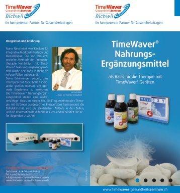 TimeWaver® Nahrungs- Ergänzungsmittel