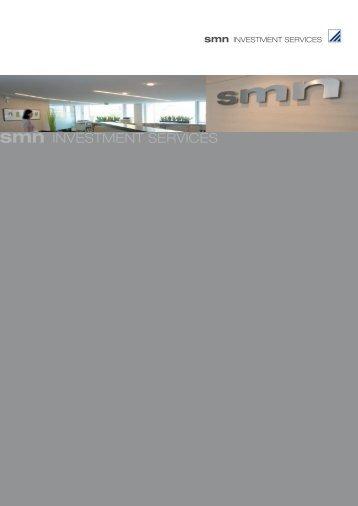 Folder 2012 deutsch_Folder 2012 deutsch - smn Investment Services