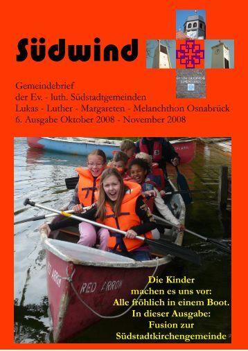 Gemeindebrief der Ev. - luth. Südstadtgemeinden Lukas - Luther ...