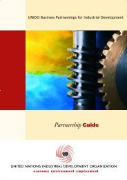 Partnership Guide - Unido