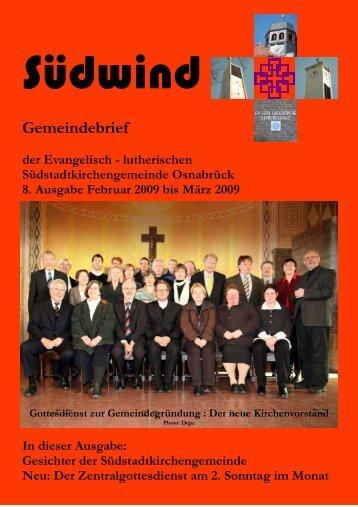Südwind - der Evangelisch-lutherischen Landeskirche Hannovers