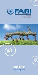 Fabi-Jahresprogramm 2011 / 2012 - der Evangelisch-lutherischen ...
