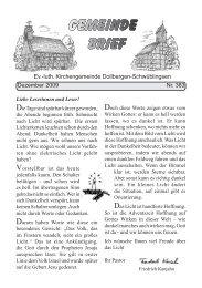 Gemeinde Brief