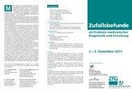 Zufallsbefunde - in der Universitätsmedizin Greifswald - Ernst-Moritz ...