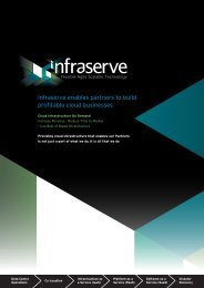 Infraserve enables partners to build profitable cloud businesses