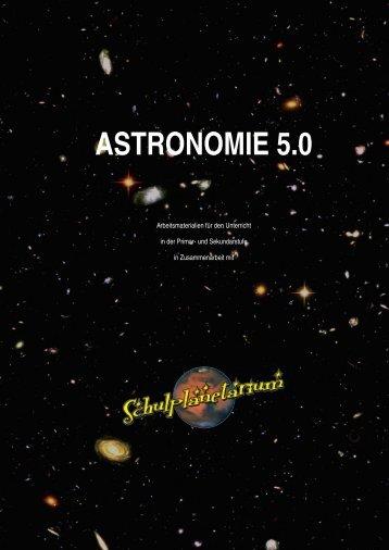ASTRONOMIE 5.0 - schulplanetarium